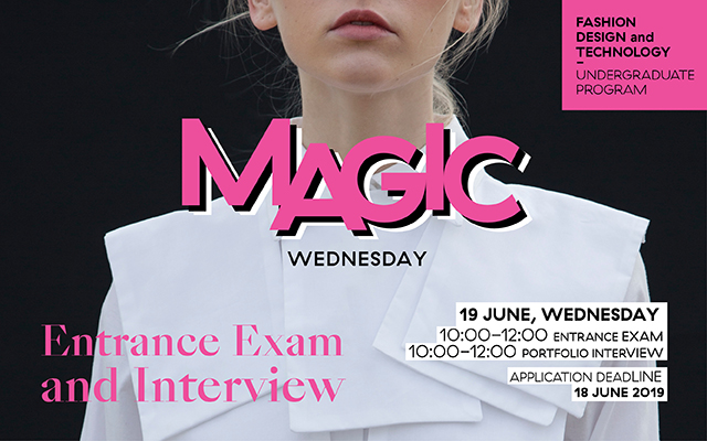 Entrance Exam an Interview 19 June