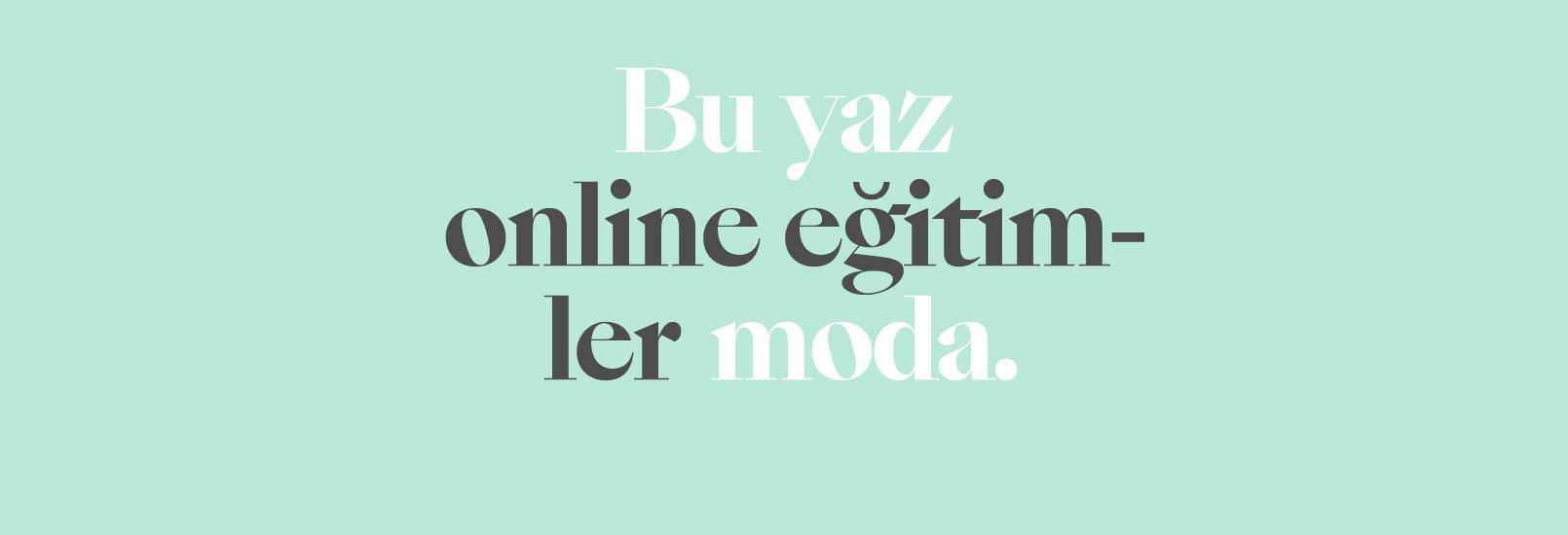 Online Eğitimler 2020