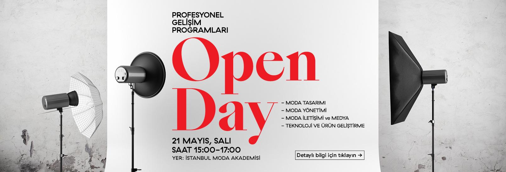 21 Mayıs Open Day