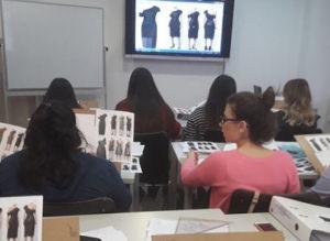 Moda Tasarımında Kalıp ve Model Geliştirme öğrencilerinin teknik çizim dersi